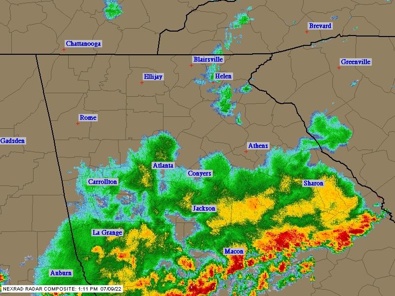 North Georgia NEXRAD Radar