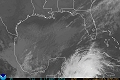 Gulf Of Mexico Hurricane Satellite IR